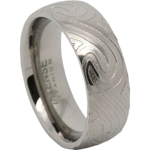 Wave Titanium Ring