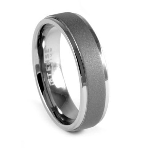 Charming Dark Titanium Ring