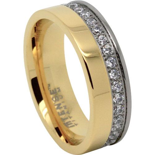 Gold Diamond Mens Ring