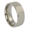 Celtic Mens Titanium Ring