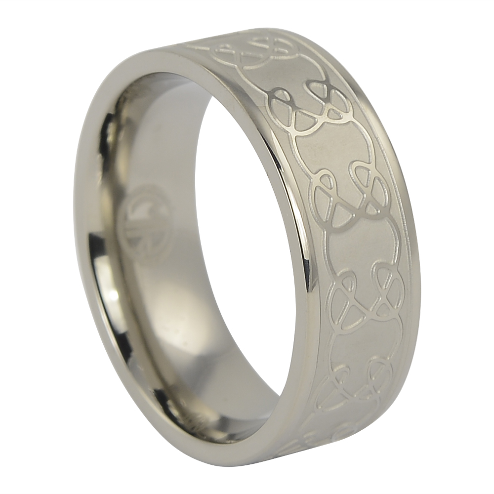 It is just a graphic of Celtic Mens Titanium Ring