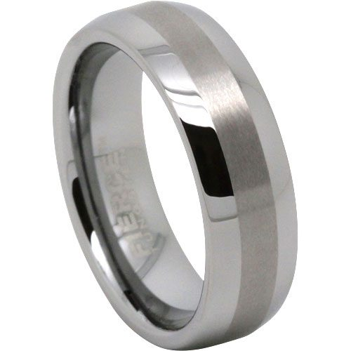 Classic Mens Tungsten Wedding Ring