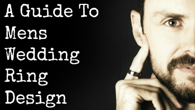 guide to mens wedding ring design