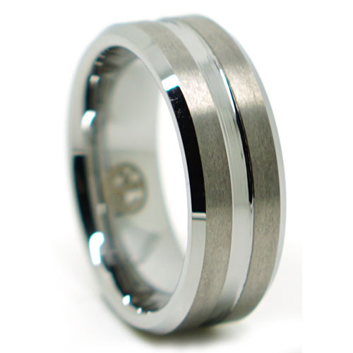 Mens Tungsten Ring