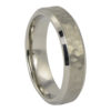 Hammered Titanium Wedding Ring