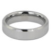 Polished Flat Tungsten Wedding Ring