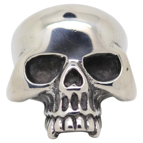 Steel Skull Mens Ring