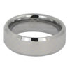 Mens Chequered Tungsten Ring