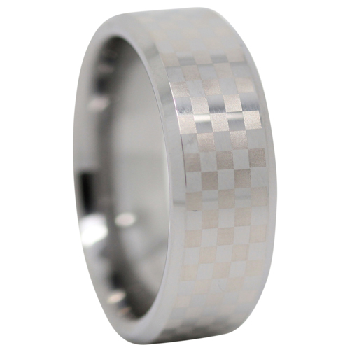 Check Mens Tungsten Ring