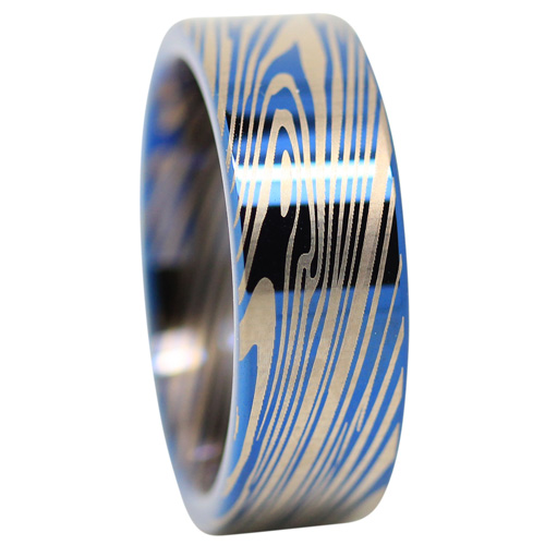 Nebula Tungsten Ring