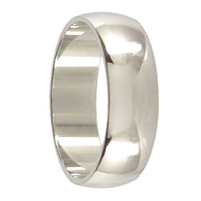 7mm Platinum Wedding Ring