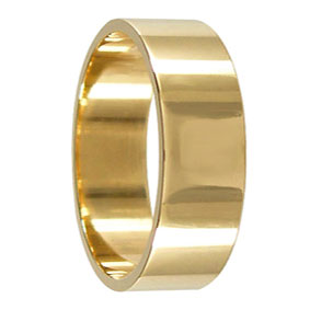 7mm Gold Wedding Ring