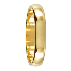 4mm Gold Wedding Ring