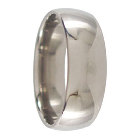 7mm Titanium Wedding Ring