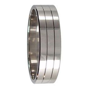 Flat Wedding Ring