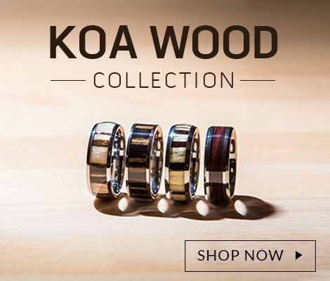 Mens Rings - Wedding Rings, Titanium, Tungsten, Gold, Platinum.