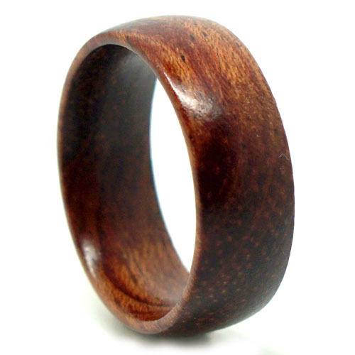 Pure Rose Wood Men's Ring