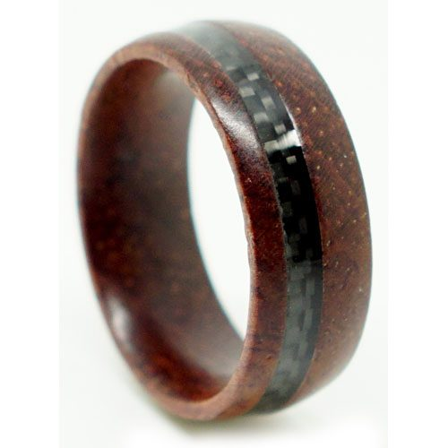 Rosewood Carbon Fibre Ring