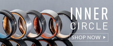 Mens Rings Wedding Rings Titanium Tungsten Gold Platinum