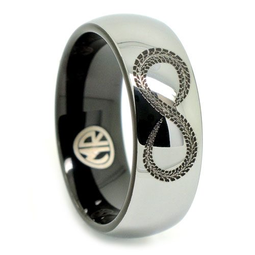 Infinity Mens Promise Ring