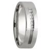 6 Diamond White Gold Mens Ring