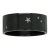 Aries Star Constellation Zirconium Mens Ring