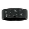 Gemini Star Constellation Zirconium Mens Ring