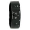 Sagittarius Star Constellation Zirconium Mens Ring