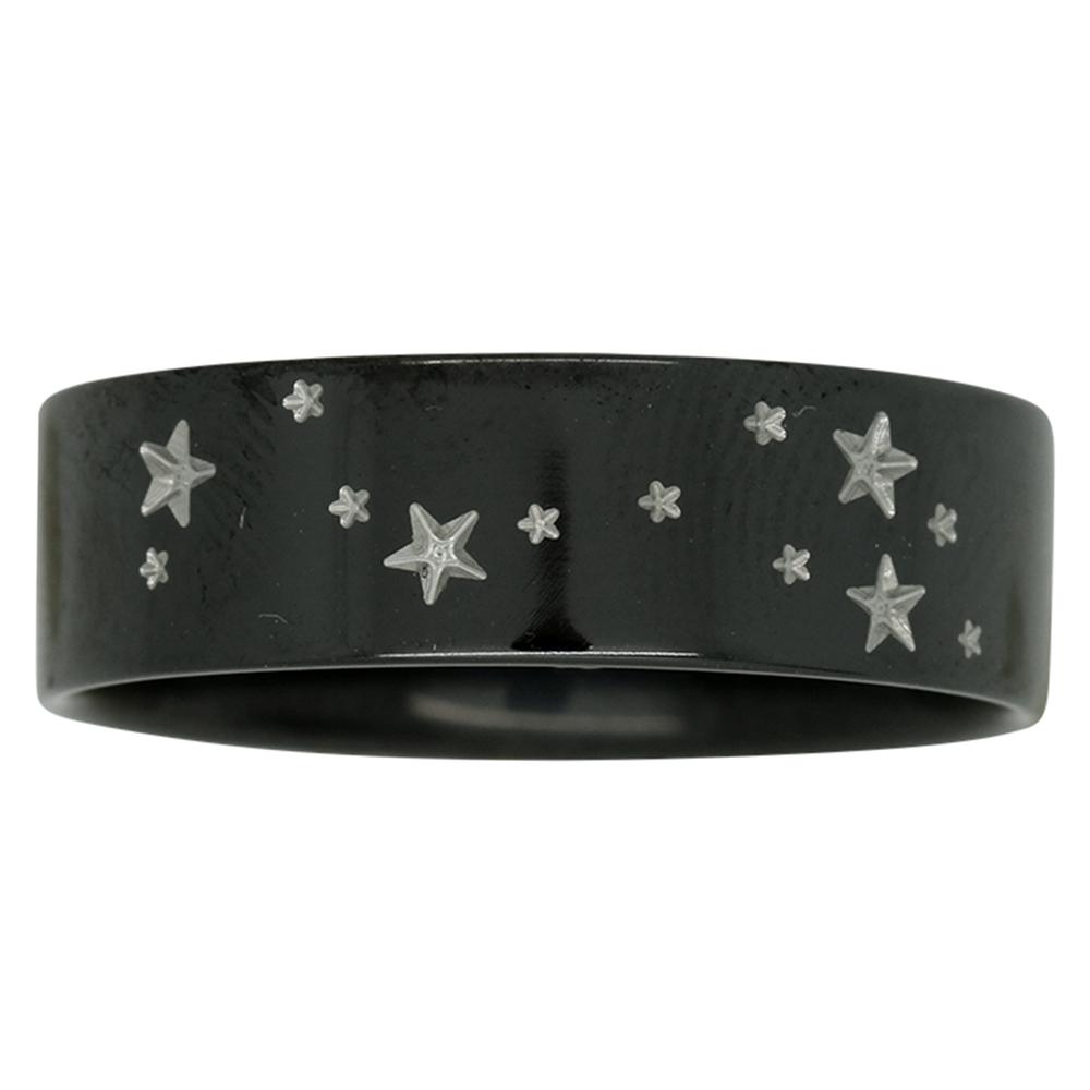 Scorpio Star Constellation Zirconium Mens Ring