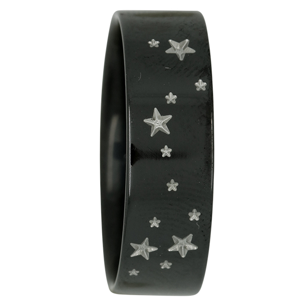 Scorpio Star Constellation Zirconium Mens Ring