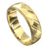 Yellow Gold Polished Mens Wedding Ring