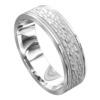 Impressive White Gold Mens Wedding Ring