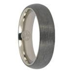 Carbon Fibre and titanium mens ring